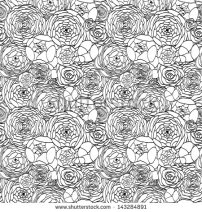 stock-vector-the-seamless-modern-it-is-black-a-white-pattern-with-roses-143284891